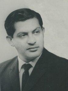 Gururaj Ananda Yogi as a Young Man