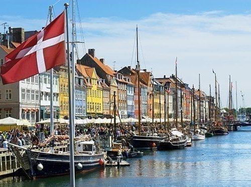 FISU Meditation Denmark & Historic canal of Nyhavn in Copenhagen, Denmark