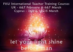 FISU Meditation Teacher Training Courses 2015
