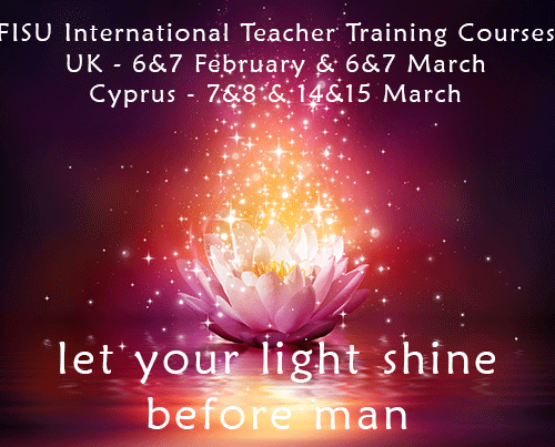 FISU Meditation Teacher Training Courses 2015