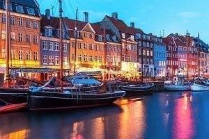 FISU Meditation Denmark - Copenhagen at Night