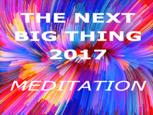 Next Big Thing 2017 - Meditation